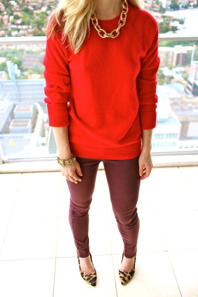 red half