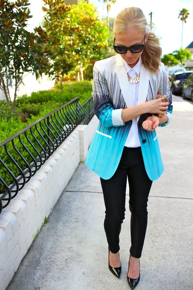 blazer walk front
