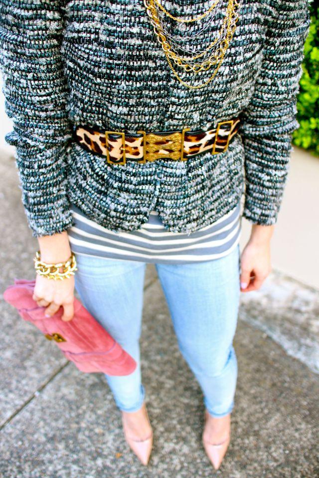 tweed half