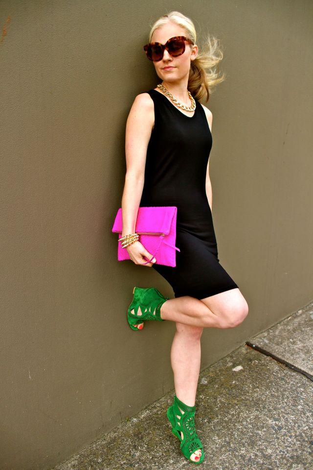 pinkandgreen wall