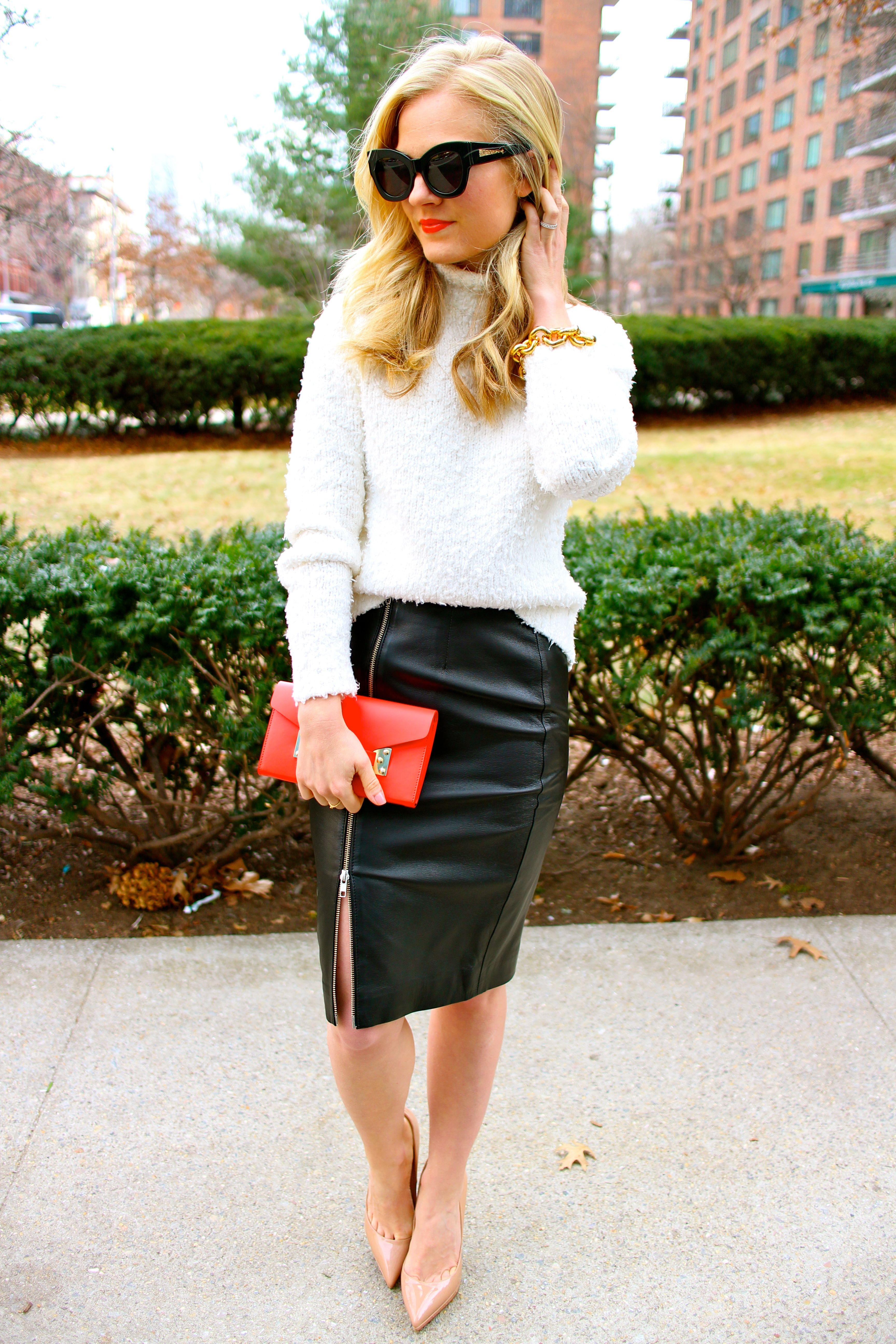 Pin by くんまー on レザースカート | Pinterest