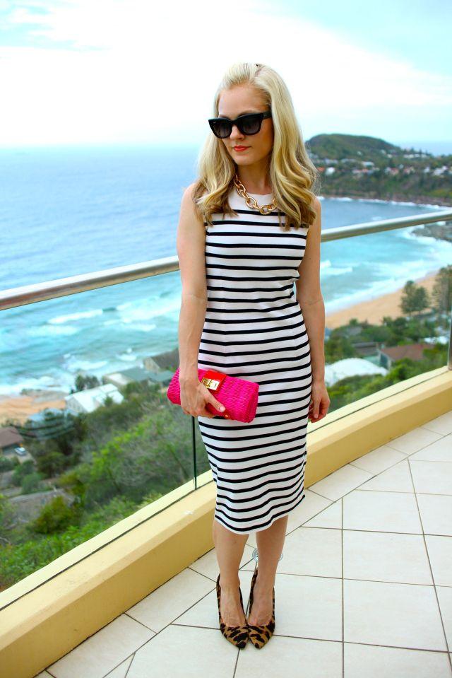 stripes full beach
