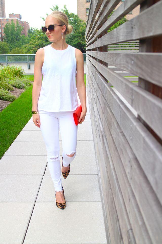 all white walk