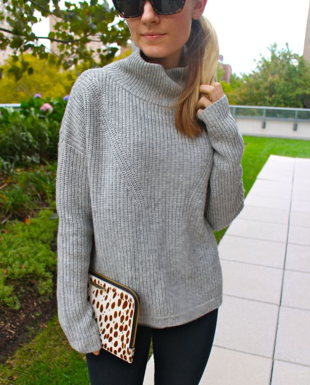 sweater w crop