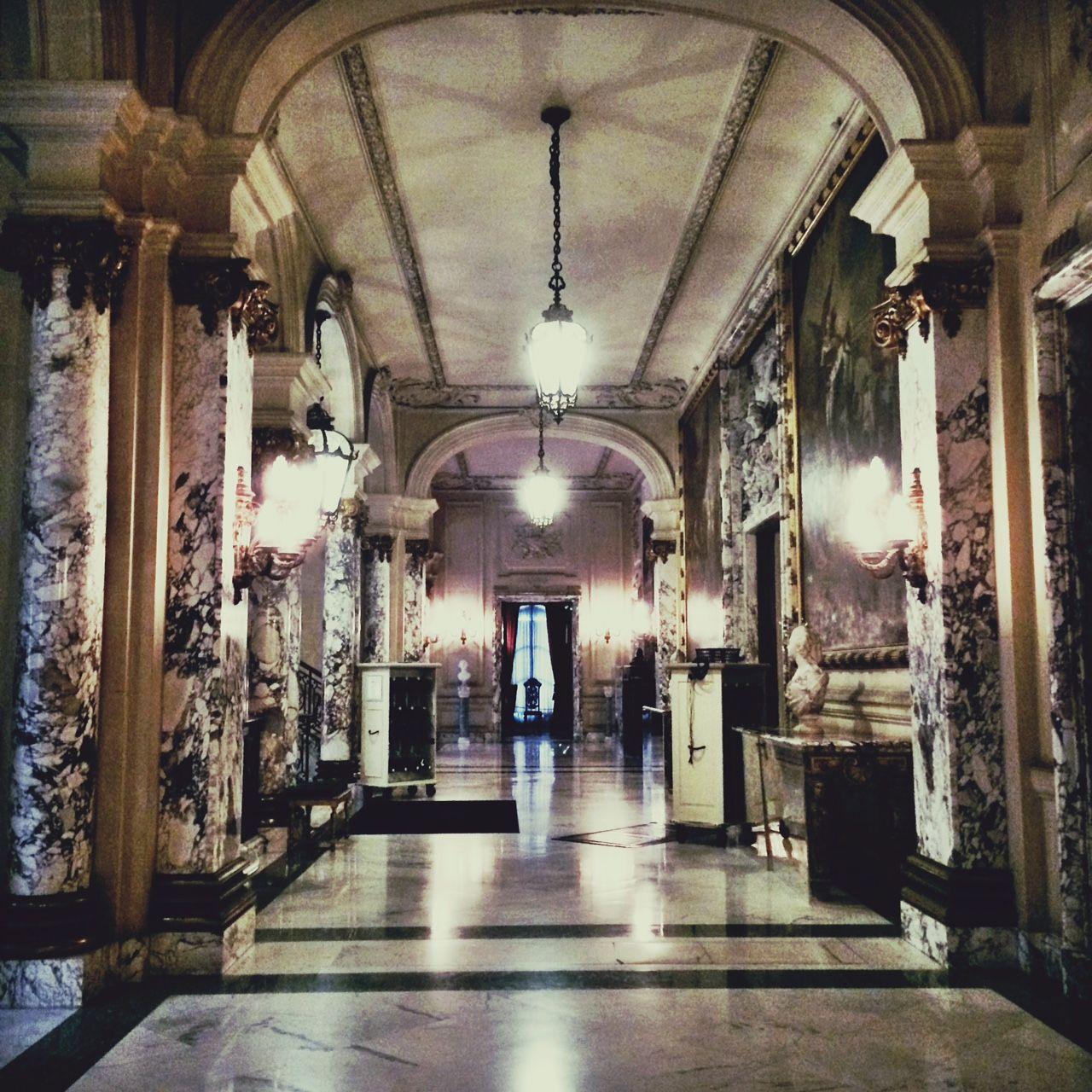 Inside Mansion Of Kirkwood: Rhode Island